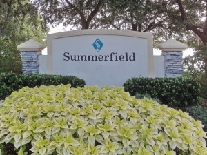 Summerfield Lakewood Ranch Entrance Sign