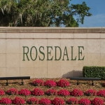 Rosedale in Bradenton Entrance Sign