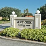 Misty Creek Country Club in Sarasota Entrance Sign