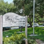 Bay Tree Club in Siesta Key Entrance Sign
