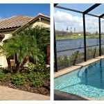 Esplanade at Lakewood Ranch - Lazio Model Front & Pool