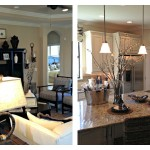 Esplanade at Lakewood Ranch Lazio Model Kitchen & Family Room