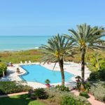 Villa Di Lancia in Longboat Key Pool Aerial